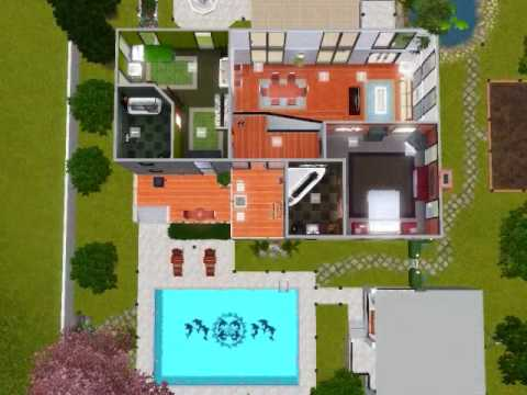 The Sims 3 - Big Modern Residence
