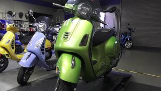 9. 2018 Vespa GTS Colors & Tech Updates