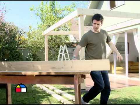 ¿Cómo construir un cobertizo de madera? Segunda parte