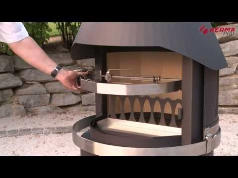 HERMAPRO Gartenkamine - Eine ideale Kombination aus Grill- & Terrassenkamin