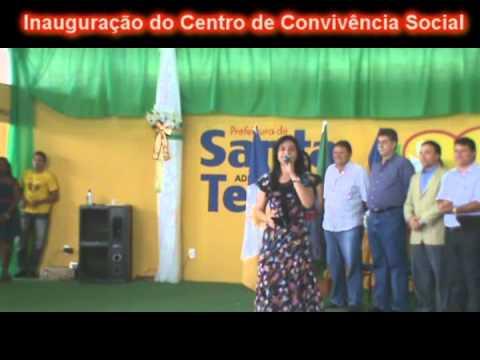Cantora Rosilene Martins Cantando em Santa Terezinha do Tocantins