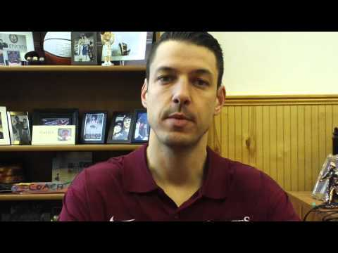 Matt Logie Men's Basketball Jan. 11, 2016