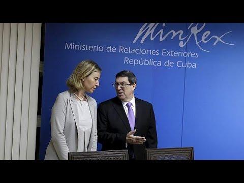 Συμφωνία για την ομαλοποίηση των σχέσεων Ε.Ε.- Κούβας