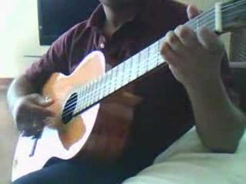 Hindi song mana ho tum – a solo Guitar arrangement.