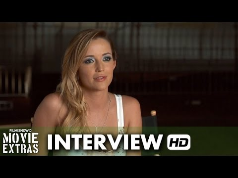 Scouts Guide to the Zombie Apocalypse (2015) Behind the Scenes Movie Interview - Sarah Dumont