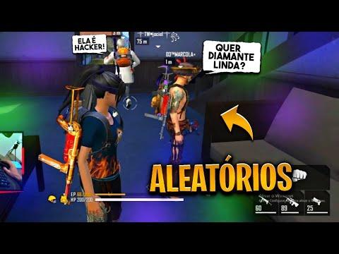 FUI CHAMADO DE HACKER PELOS ALEATÓRIOS GADOS NO FREE FIRE 🤣  - 22 KILLS NA CONTA ☠️ -  SMITH FF