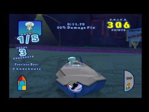 spongebob's boating bash wii cheats