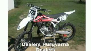 7. 2007 Husqvarna CR 125 - Features & Info
