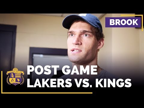 Video: Brook Lopez Says The Lakers Are 'Back To Having Fun' And Playing Defense