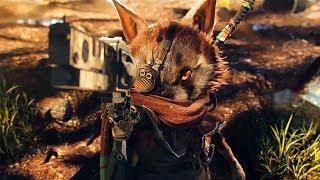 ►► Select 1080p HD for Best Quality ◄◄THQ Nordic and independent developer Experiment 101 have revealed BIOMUTANT, a new and original open-world action RPG for the PlayStation 4, Xbox One and Windows PC. Explore a world in turmoil and define its fate – will you be the hero and saviour or lead it to an even darker destiny?BIOMUTANT's unique design lets players change their character's abilities and appearance with powerful mutations, bionic prosthetics and weapons. Grow claws, sprout wings, or attach a robotic leg - each choice will impact the way your hero plays in real-time combat that blends melee martial arts and firearms.Set in an imaginative post-apocalyptic universe, BIOMUTANT is a kung fu fable filled with fantastic creatures to discover, dangerous factions to navigate, and colorful worlds to explore with mechs, paragliders, balloons, mounts, jet skis and more.BIOMUTANT is expected to launch in 2018. The game will be playable at the THQ Nordic Booth at Gamescom as well as at PAX West