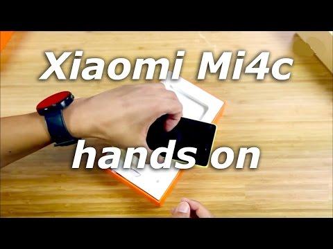 Xiaomi Mi4c hands on