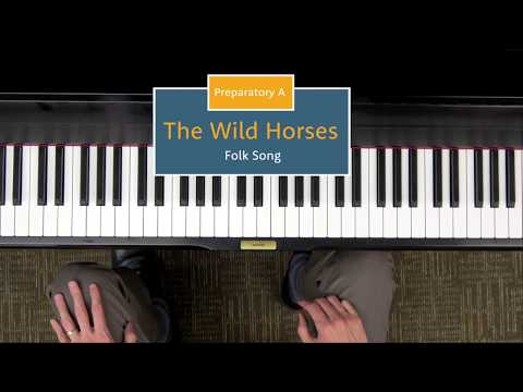 The Wild Horses Level Prep A Piano Repertoire Demo Hoffman Academy