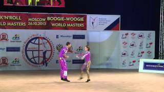Alzbeta Slamova & Lukas First - World Masters Moskau 2013