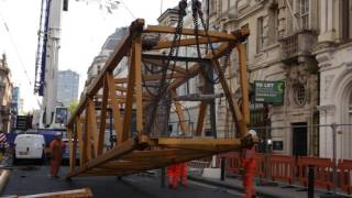 103 Colmore Row Tower Crane Build Time Lapse