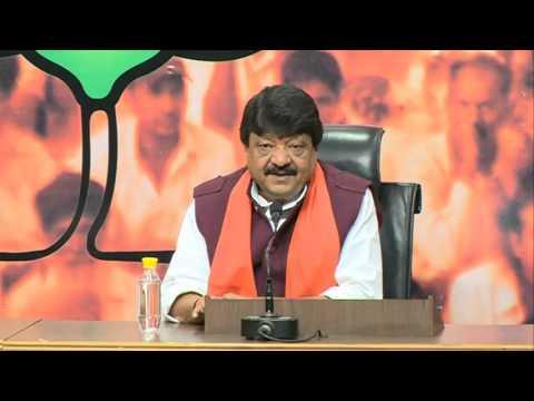 We demand that CM Harish Rawat must resign & President's rule be imposed: Shri Kailash Vijayvargiya