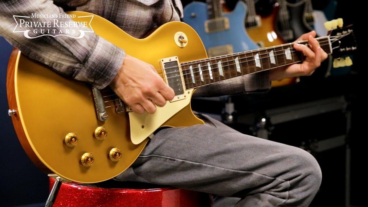Gibson Custom 2018 VOS Historic '57 Les Paul Goldtop Electric Guitar
