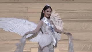Video Thùy Dung trình diễn trang phục dân tộc tại Miss International 2017 MP3, 3GP, MP4, WEBM, AVI, FLV November 2017