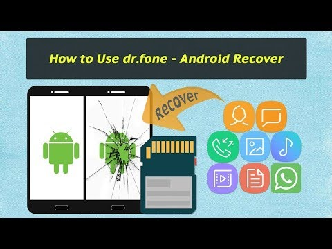 Dr.fone -Recover deleted data from your Android/IOS device