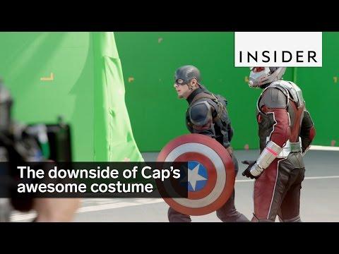 Captain America's costume is gross