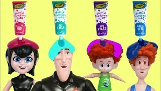 Video Hotel Transylvania 3 Bath Paint Fun Time with Mavis, Drac, Dennis & Bubbles MP3, 3GP, MP4, WEBM, AVI, FLV Februari 2019