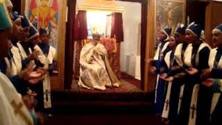Ethiopian Calgary St Gabriel Orthodox Tewahdo Chruch , Fasika 2011