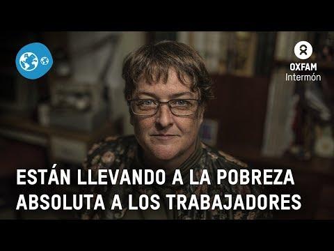 Precariedad laboral en España – El testimonio de Dolores Espinosa