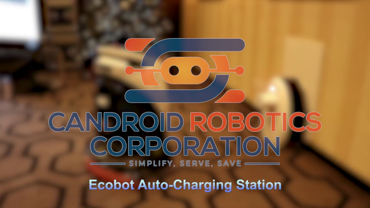 Candroid Robotics – Ecobots Auto-Charging Station