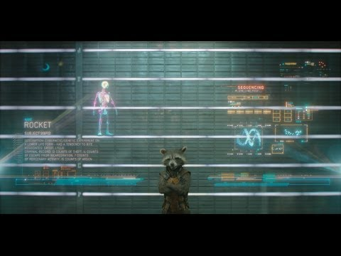guardiani della galassia - teaser trailer