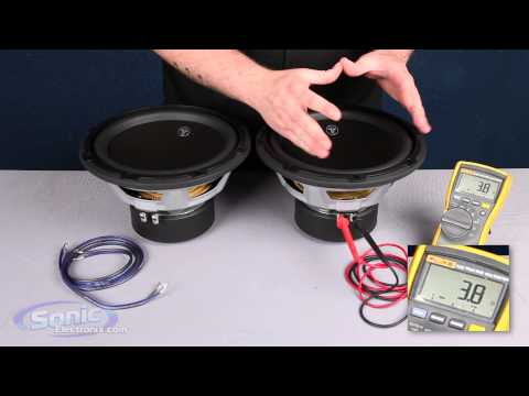 4 ohm - Learn how to wire two single 4 ohm car subwoofers to a 2 ohm final impedance using the parallel wiring method. The most common question we are asked here at ...