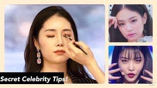 Video Celebrity Makeup Artist Transforms Me into Jennie & Chungha | K-beauty MP3, 3GP, MP4, WEBM, AVI, FLV Februari 2019
