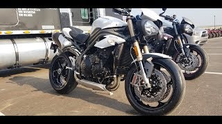 8. Triumph Speed Triple 1050 S 2018: Demo Ride and Vlog