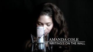Sam Smith - The Writing's On The Wall - Amanda Cole cover
