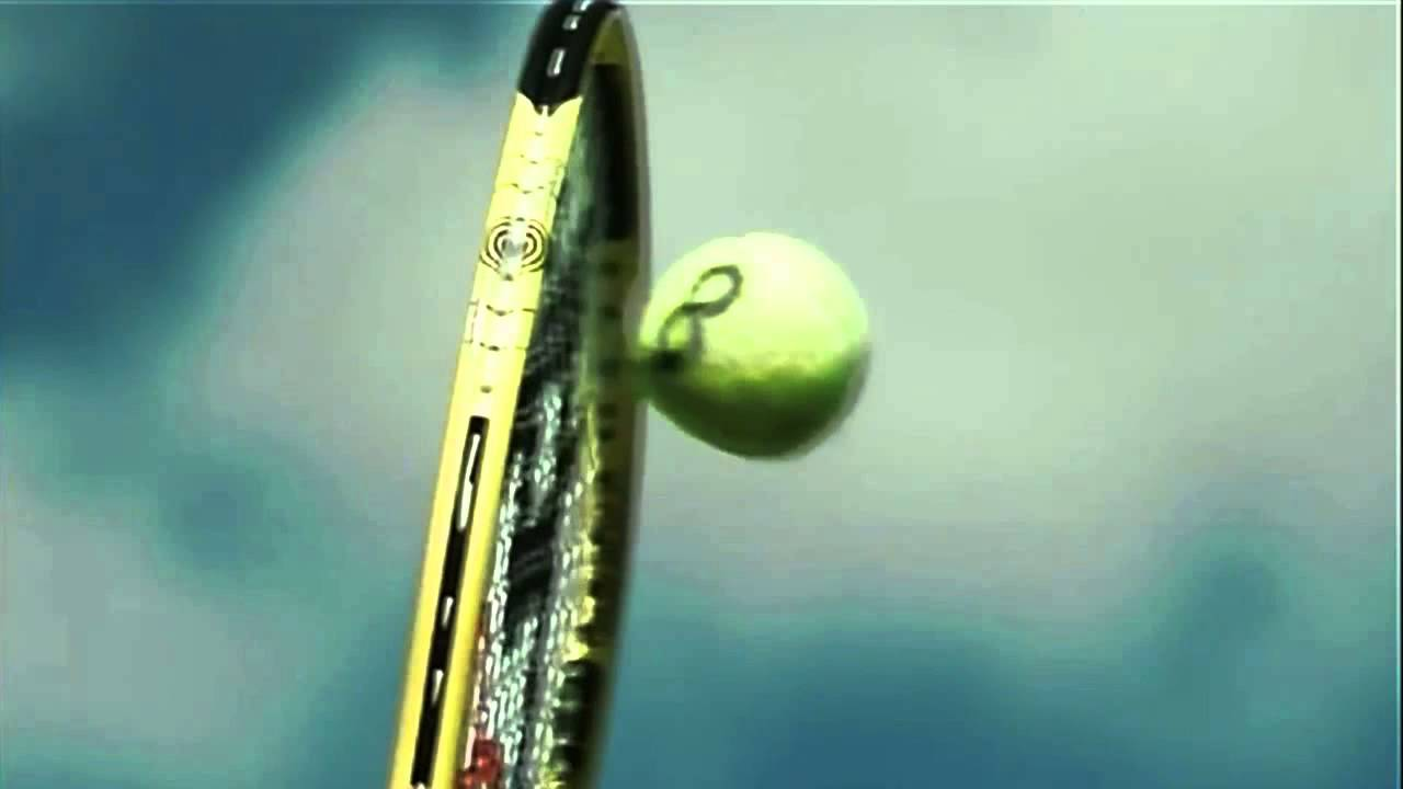 142mph Serve – Racquet hits the ball 6000fps Super slow motion (from Olympus IMS)