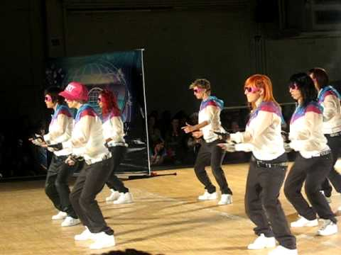 Команда танцоров Beat Freaks на World of Dance Tour Ponoma 2009
