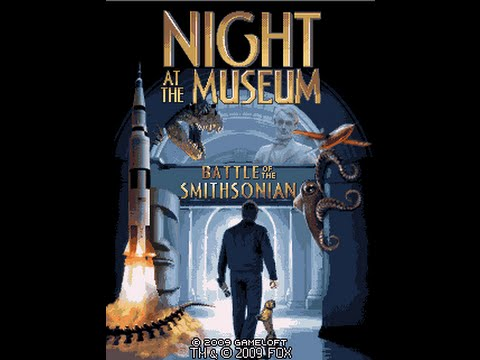 Night at the Museum II GSM Java Mobile Phone Game