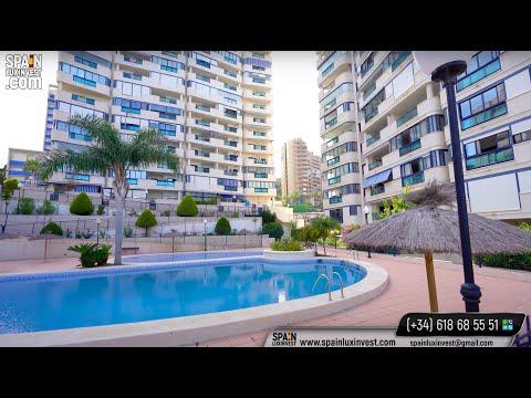 Недвижимость в Бенидорме/Купить квартиру у моря в Испании/Квартира с видом на море и сосны/Ла Кала