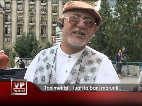 Taximetriştii luaţi la bani mărunţi
