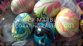 DIY: Marbled Eggs ♡ {Easter Egg Decorating} ♡ Jessica Joaquin - YouTube