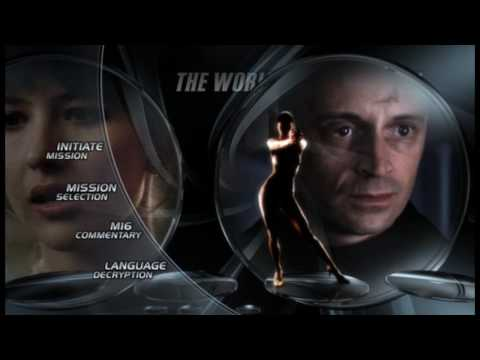 James Bond Ultimate Edition DVD Menus - The World is Not Enough