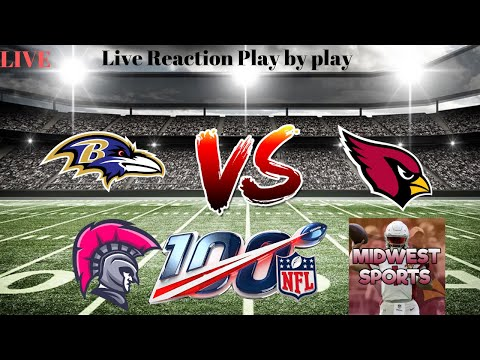 Baltimore Ravens VS Arizona Cardinals Week 2 - Live Play-By-Play & Reaction