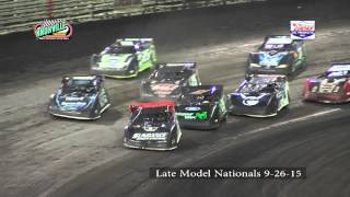 Knoxville Raceway 9-26-15 Lucas Oil Late Model Nationals