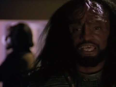 Worf Find Out that Kurn Is His Younger Brother