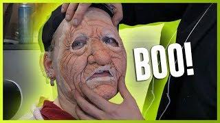 I TRANSFORMED INTO A SCARE ACTOR at a Halloween Park!! | NikkieTutorials by Nikkie Tutorials