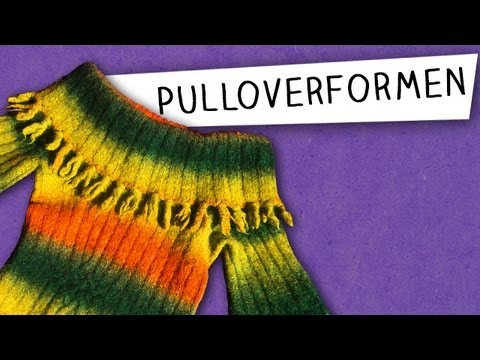 Alles über Pulloverformen! (CraSy Basics)