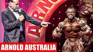 2019 Arnold Classic Australia Results (Top 6)