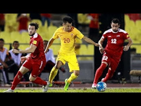 SYRIA 2 2 CHINA 叙利亚 vs 中国  2018 FIFA World Cup Qualifiers   All Goals and Highlights