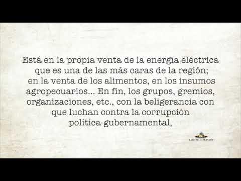 Corrupción no política