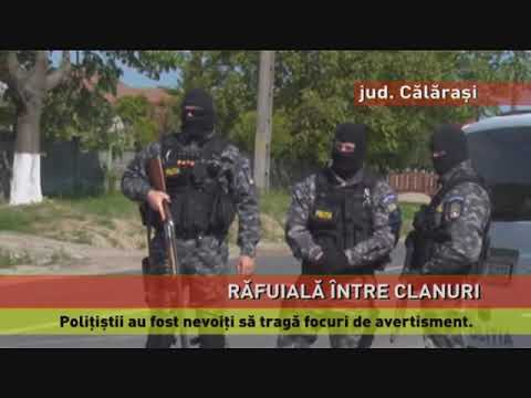 Încăierare între două clanuri de romi, la Călărași