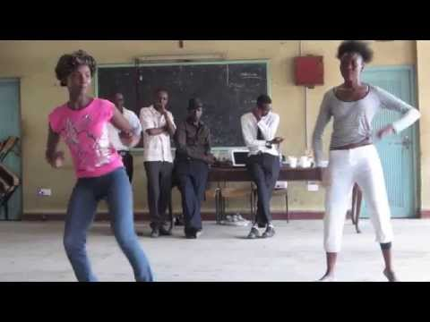 Tango Negro, Nancy & Anne perform traditional African dance