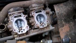 9. Kawasaki KFX 700 Carburetors